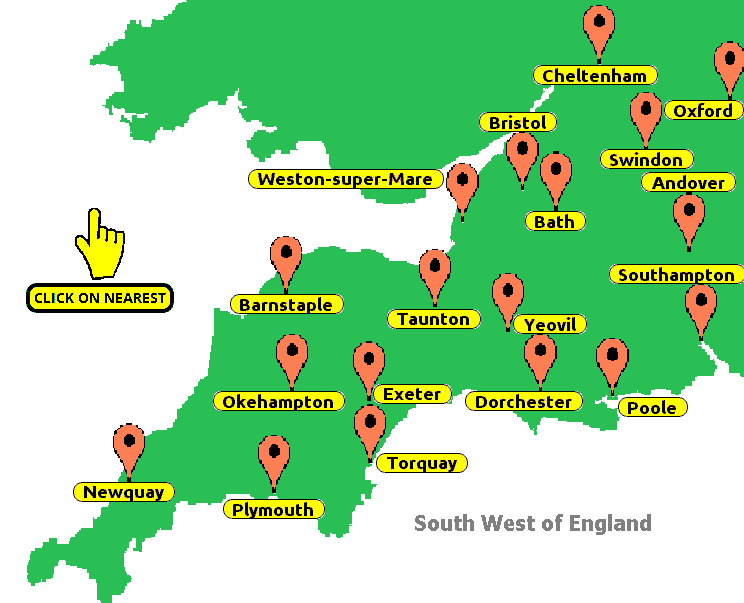 southwest-map